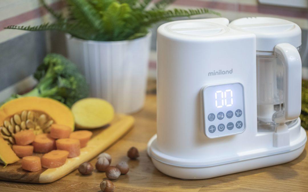 Cómo preparar una papilla con el robot de cocina para bebés chefy 6